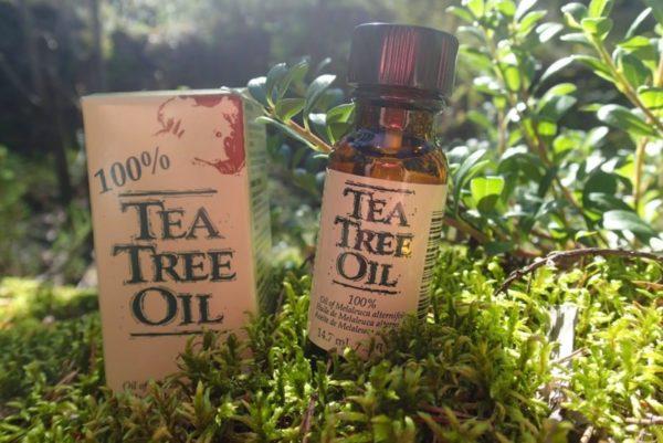 Ефективним є застосування олії чайного дерева