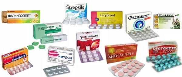 Специфика лечения ангины с помощью антибиотиков